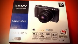 Sony HX20v Unboxing for E3 2012