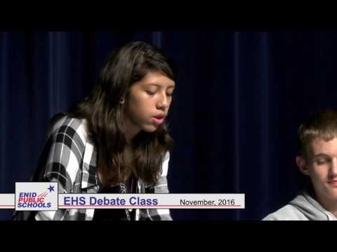 Enid High School Debate Team