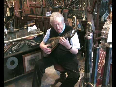 Antique mechanical musical instruments