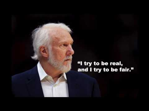 Spurs Coach Gregg Popovich gives his uncensored thoughts on Donald Trump, the election
