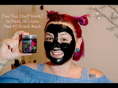 Hunting For The Best Facial Mask From Walmart - So Fresh So Clean Peel Off Black Mask