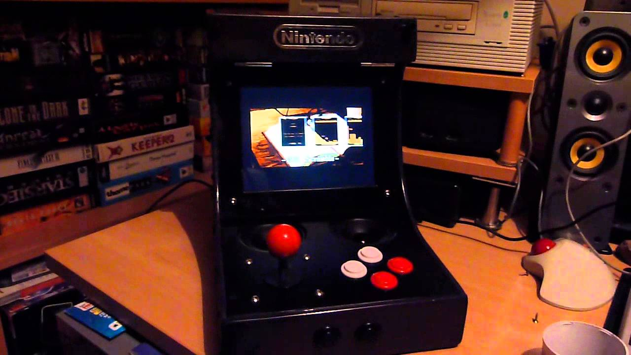 Gameboy Advance - RGB TV Out Arcade Cabinet Completed! - YouTube