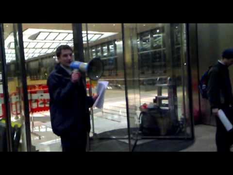 Tour of Canary Wharf (I) with Occupy London