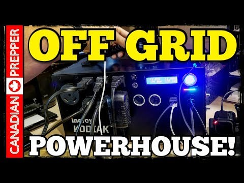 Unlimited Portable Off-Grid Power Station: Inergy Kodiak Solar Generator