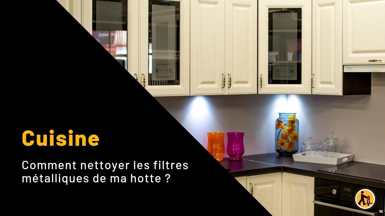 comment nettoyer les filtres m talliques de ma hotte de. Black Bedroom Furniture Sets. Home Design Ideas