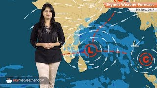 Weather Forecast for Nov 13: Pollution in Delhi to remain severe; Rain in Chennai, Tamil Nadu