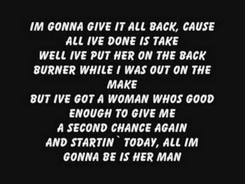 Gary Allan-Her man w/ lyrics