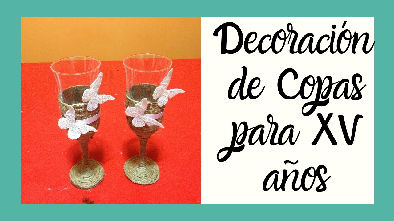 Decoraci n copas estilo vintage quince a os vintage style for Decoracion para 15 anos 2016