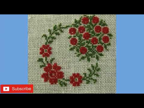 New Cross Stitch Pattern Dosuti Table Cloth Design Table Cloth Design Collection Youtube
