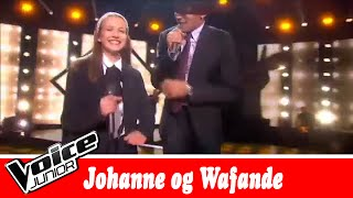 Johanne og Wafande synger  Black Dylan – 'Don't Wanna Be Alone' – Voice Junior   Finale