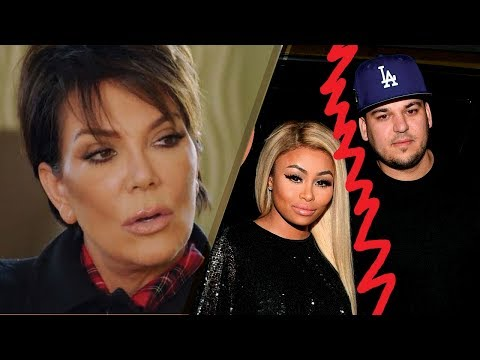 "Kris Jenner ANGRY at Rob Kardashian Over Blac Chyna Feud: ""This is a NIGHTMARE"""