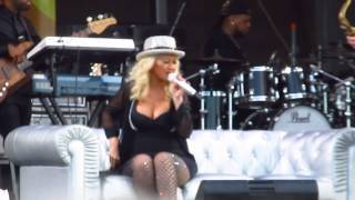 Christina Aguilera - I Want A Little Sugar In My Bowl  New Orleans Jazz Festival
