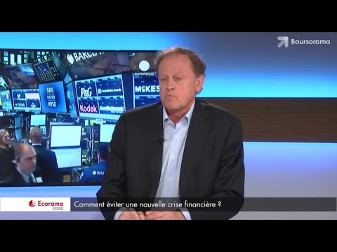 """La prochaine crise financière sera encore pire qu'en 2008 !"" Jean-Michel Naulot"