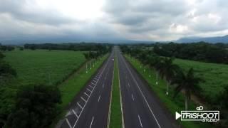 Video Aéreo Autopista Palin-Escuintla