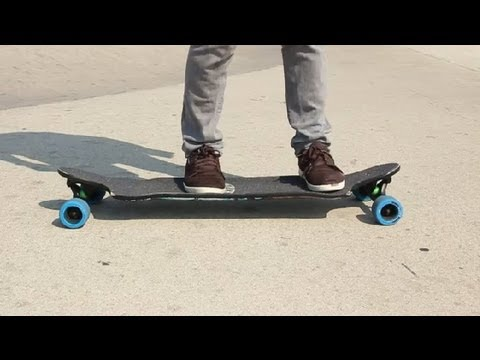 Longboard Skateboard Techniques : Skateboarding Tips & Tricks
