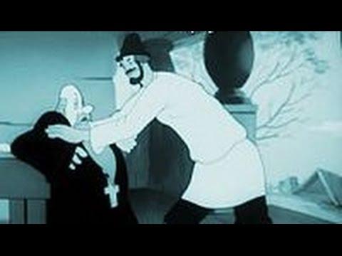 """""""Сказка о попе и его работнике Балде"""" Мультфильм, 1939г"""