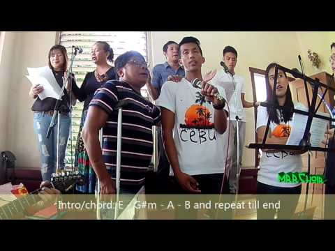 AMAHAN NAMO with chords (the Lord's Prayer) with MRR choir