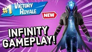 INFINITY Skin Gameplay In Fortnite