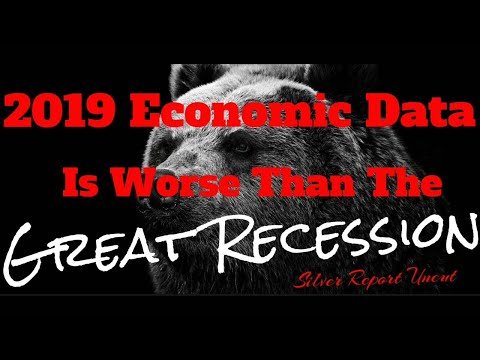 Economic Collapse News - 2019 Economic Data Is Worse Than The Great Recession