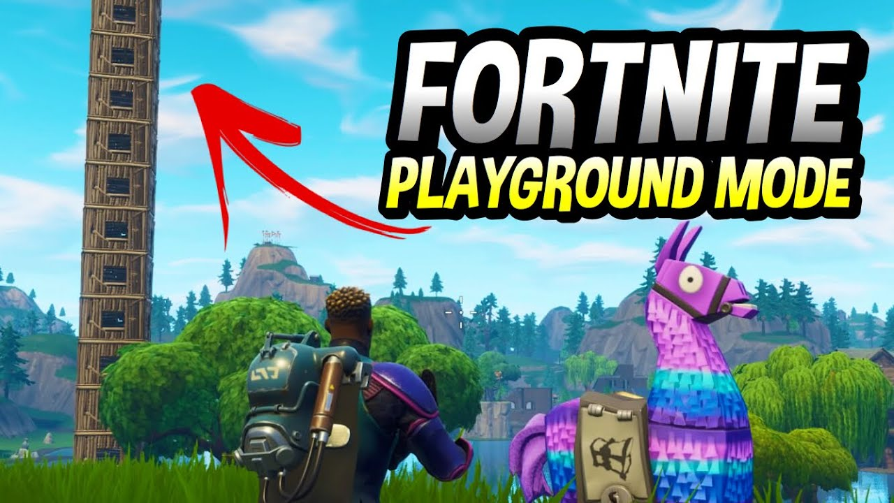 Fortnite Playground Mode Gameplay Out Now Review And How It Works