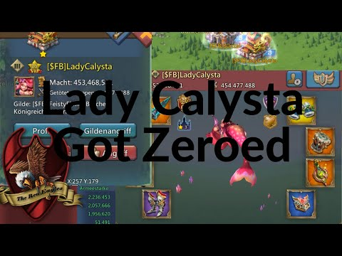 Lords Mobile - So We ZEROED LADY CALYSTA
