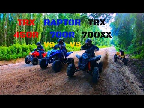 Raptor vs TRX700XX vs TRX450R vs Raptor
