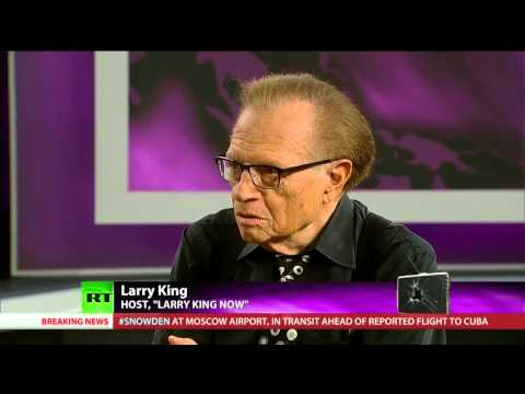 [190] Snowden's Next Move, Larry King on Role of Journalism, US Government's Blind Arrogance