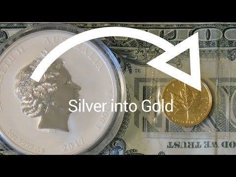 I Traded Some Silver for Gold, Here's Why.