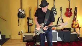 Resistocaster: New Guitar with Lollar Gold Foil Pickups