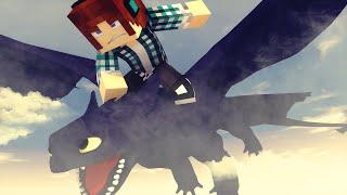 Minecraft: COMO TREINAR SEU DRAGÃO !! - Aventuras Com Mods #12
