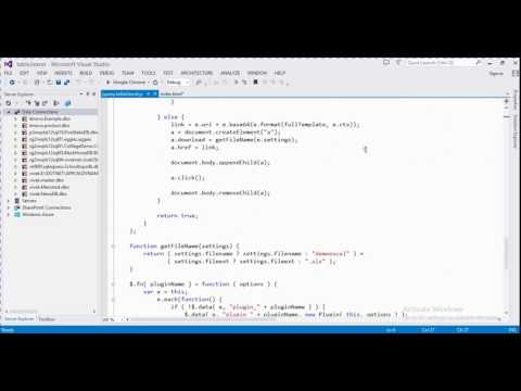 How To Export Html Table Into Excel Using Jquery