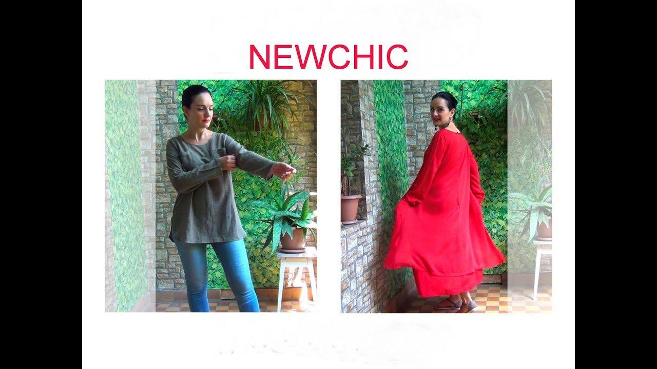 Обзор Платья и Блузы из Интернет-Магазина NEWCHIC