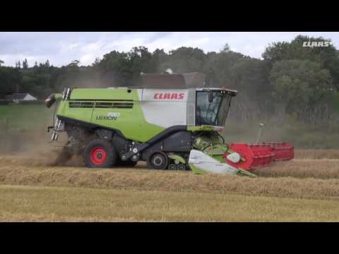 LEXION 2016 - Hay Farming (Perthshire)