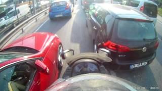 Ayna kırma ,Motorcu Kavga,Trafik  Magandası YOK, Kibar motorcu motovlog VAR