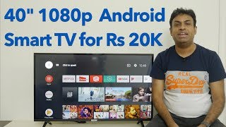 "iFFalcon 40F2A 40"" Budget HDR 10 Android Smart TV Overview"