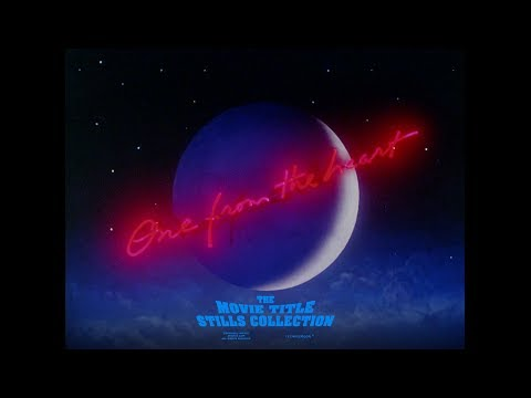 One from the Heart (1981) title sequence