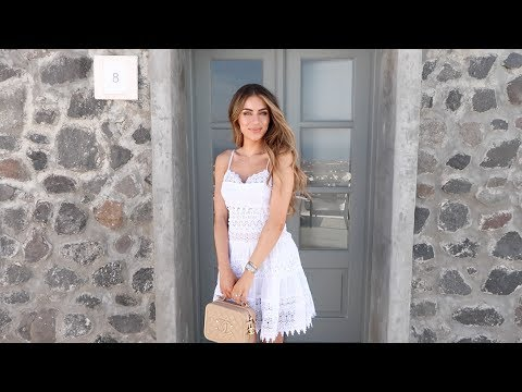 WHAT I WORE AND DID IN SANTORINI | Lydia Elise Millen