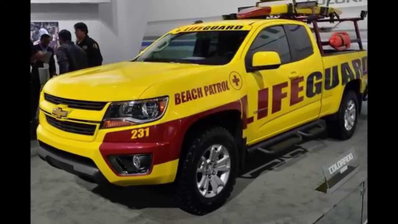 2015 Chevrolet Colorado Lifeguard Truck - Beach Patrol Colorado - YouTube