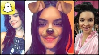 Kendall Jenner - Snapchat Video Compilation 2016