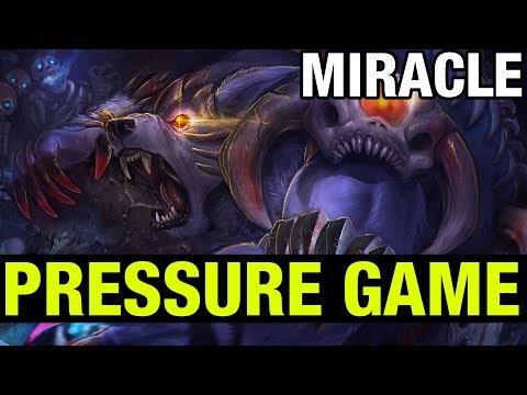 PRESSURE GAME - MIRACLE URSA - Dota 2