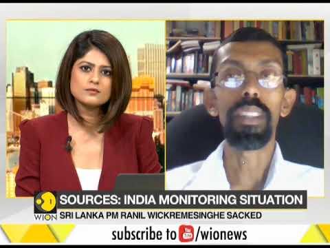 Sri Lanka President sacks Prime Minister, appoints Rajapaksa