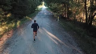 Baby Steps || Easy Run with Drone Footage