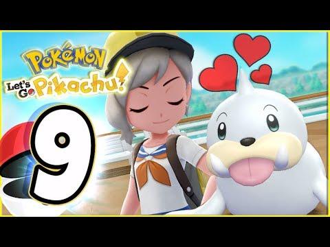 Pokémon Let's Go Pikachu Walkthrough Part 9 Cruise Ship S.S ANNE (co-op gameplay)