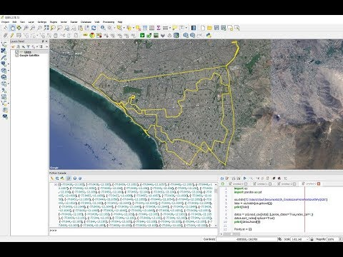 How To Create Line From Points in QGIS with PyQGIS and Pandas - Tutorial