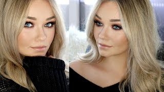 SLAY ME DEAD ON DATE NIGHT | Blue Brown Pigment and Flawless Face Makeup Look