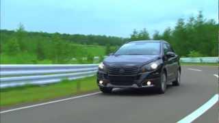 New Suzuki SX4 2013 (S-Cross) Official Test Drive