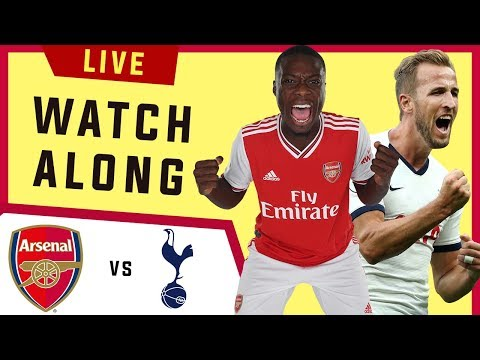 🔴 Arsenal Vs Tottenham : LIVE Football Stream Watchalong | Super Sunday