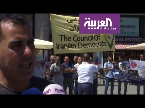 تظاهرة تطالب المجتمع الدولي بإنهاء الحكم الاستبدادي والطائفي في إيران  - نشر قبل 4 ساعة