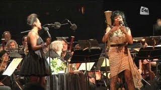 Deux divas du jazz sur le Vieux-Port
