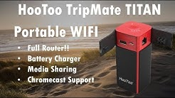 HooToo TripMate Titan -  Portable Router,  USB Charger, Media Server & More!!